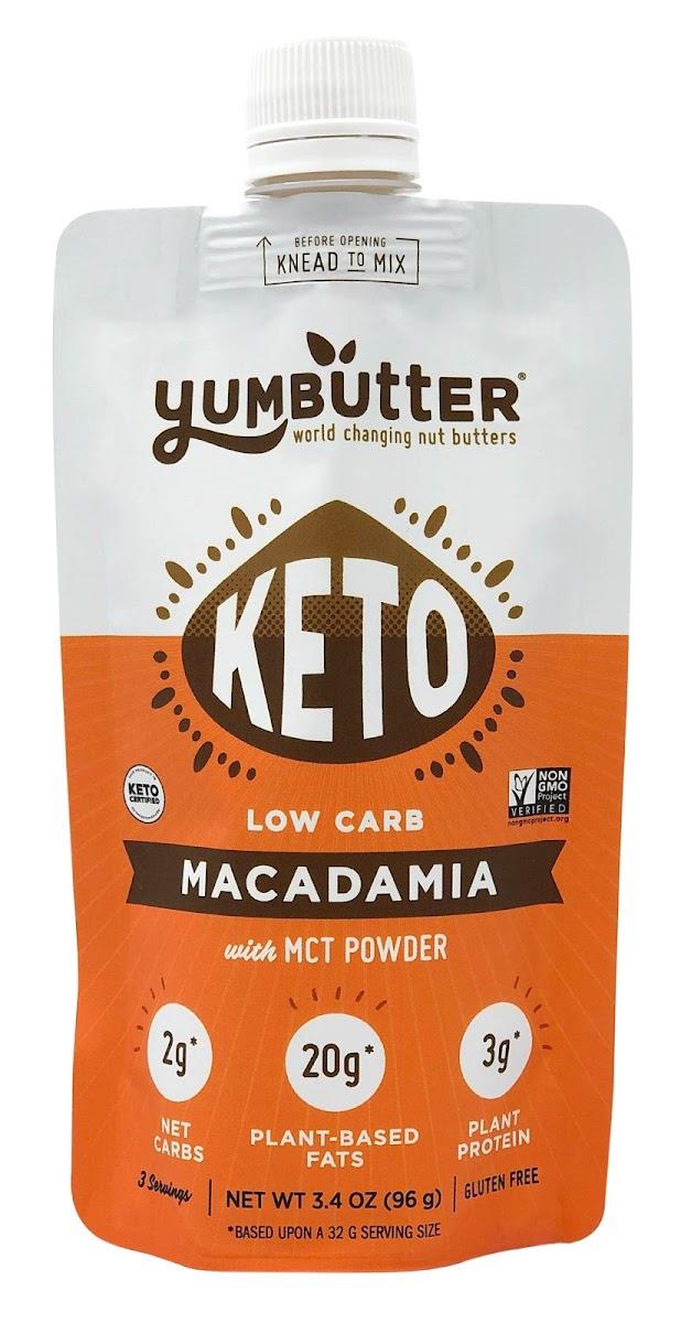 Keto Macadamia Nut Butter