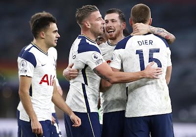 Tottenham Hotspur wint met 3-0 van Leeds United