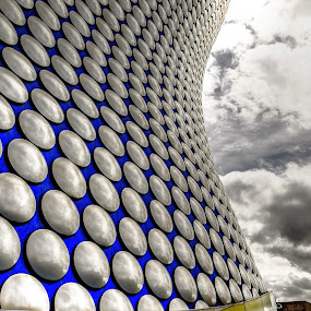 yellow lips 2 by Ray Heath - Buildings & Architecture Architectural Detail ( bullring, uk, yellow lips, birmingham, modern architecture, architecture: abstract detail,  )