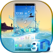 3D Samsung Galaxy Note 8 Theme