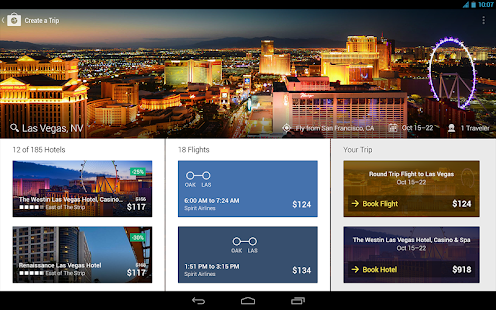 Expedia Hotels, Flights & Cars - screenshot thumbnail