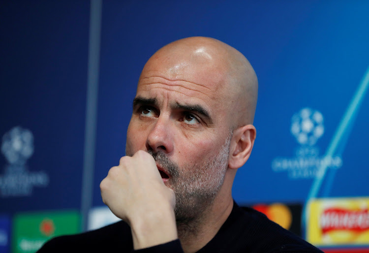 March 11, 2019 Manchester City manager Pep Guardiola during a press conference Action, Picture: REUTERS / LEE SMITH