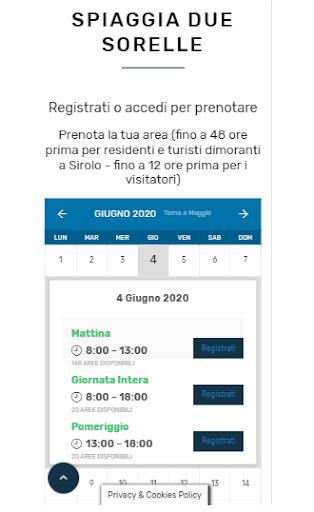 Sirolo Spiagge screenshot 3