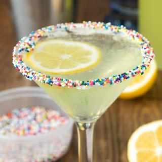 Lemon Cupcake Martini.
