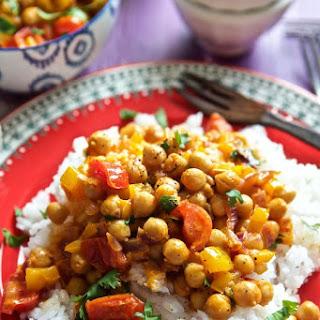 Vegan Thai Chickpea Curry.