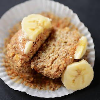 Banana Almond Meal Muffins (Gluten Free + Vegan Optional).