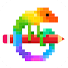 Pixel Art: Color by Number Game APK Icon
