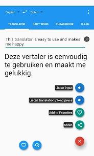 Dutch English Translator Free 7.6.2 Android APK Mod 1
