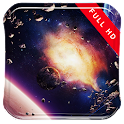 Asteroids and the Planet LWP icon