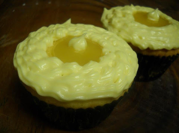 Lemon Curd Cupcake Recipe