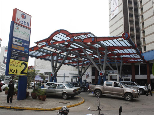 A view of kenol kobil petrol station in Nairobi.FILE