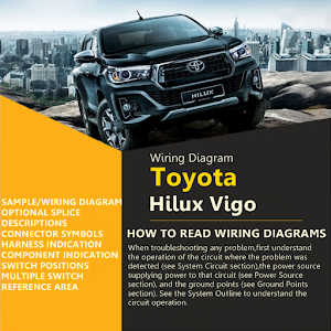 Wiring Diagram For Toyota Hilux Vigo 1.0 apk | androidappsapk.co on