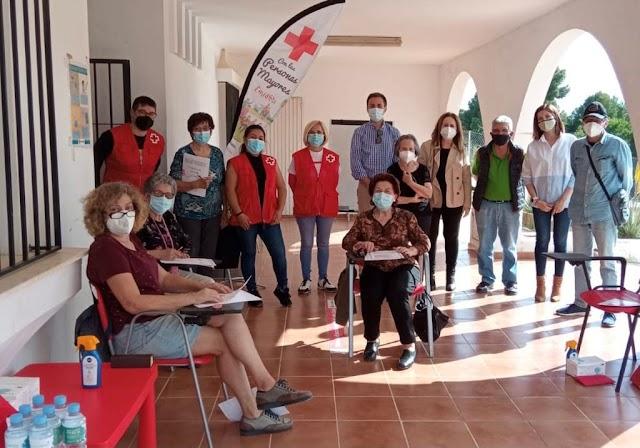 Taller de Memoria de Cruz Roja.