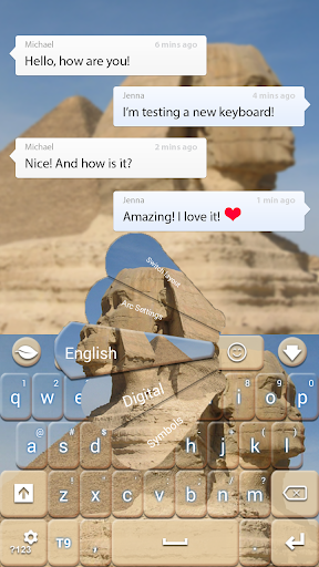 Sphinx Theme Keyboard