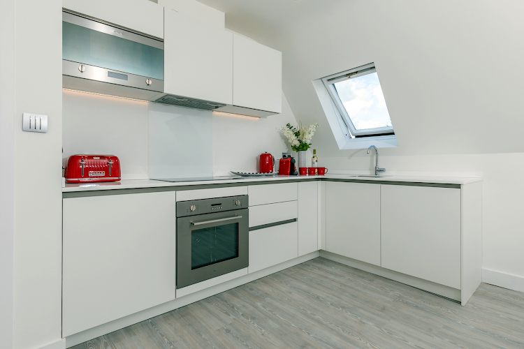 Fully equipped kitchen at Faculty Apartments