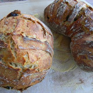 Himalayan Salt, Olives, Rosemary, and Garlic Sourdough