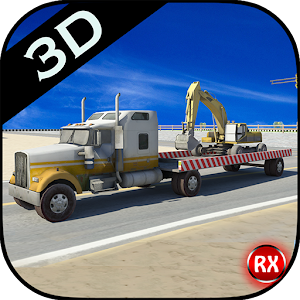 Heavy Crane Transporter Truck for PC and MAC