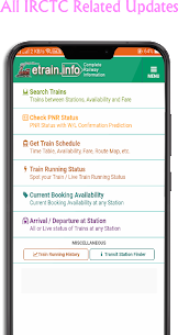 Live Train Status IRCTC Apk Download For Android 1
