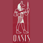 Logo for Oasis Brewery