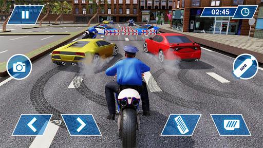 US Police Bike Chase 2020 3.7 screenshots 3
