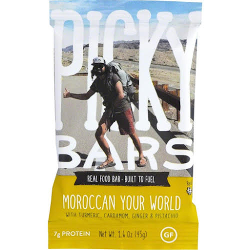 Picky Bars Real Food Bar: Moroccan Your World, Box of 10