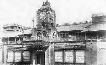 Photo: P.Orr & Sons - Mount road-Peter Orr started P. Orr and Sons, which has been the city's traditional timekeeper for decades. This showroom and the three-faced clock tower, built in 1873, are city landmarks even today.