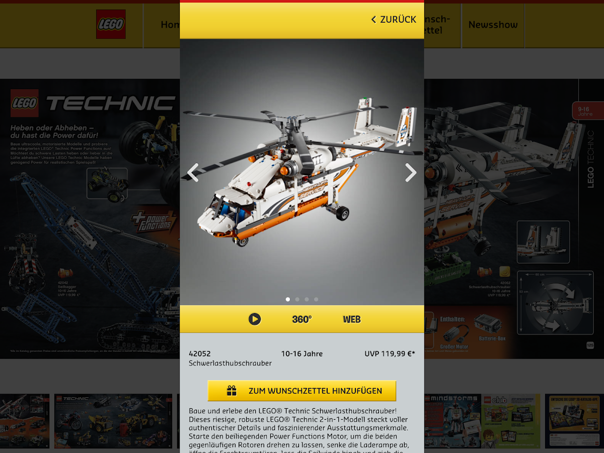 LEGO® 3D Katalog- screenshot