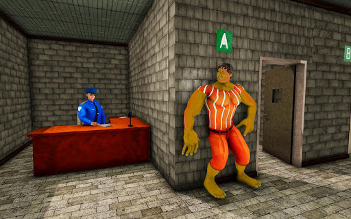 Monster Superhero Prison Escape