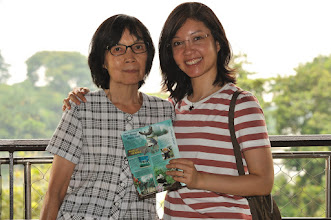 Photo: My wife and my mother-in-law at River Safari.