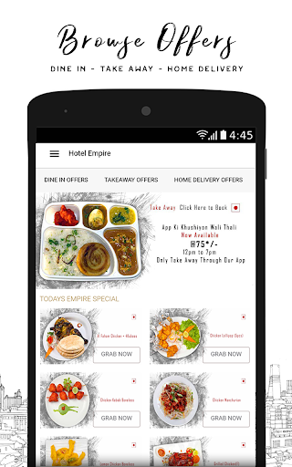Hotel Empire -Food Order for PC