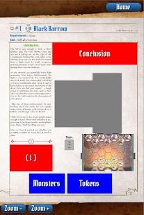 Gloomhaven Scenario Viewer - náhled
