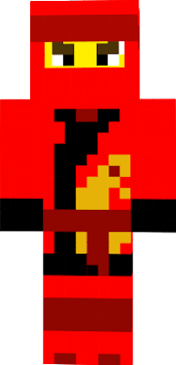 he is the fire ninja who his suit its an remember of his history