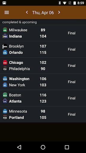 Sports Alerts - NBA edition 2.7.2 screenshots 8