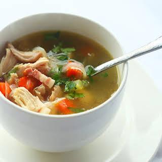 Roast Turkey Soup.