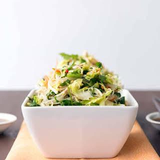 Vietnamese Brussels Sprout & Noodle Salad.