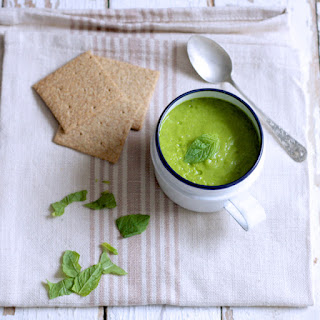 Zesty Courgette and Leek Soup