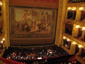 Photo: Prague Opera house.  We saw Janacek's Jenufa.