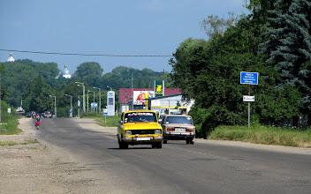 Photo: Wjazd do Samboru