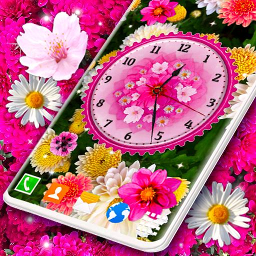 Flowers Clock Wallpaper App Su Google Play