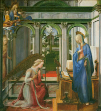 Photo: Fra Filippo Lippi, The Annunciation, Ca. 1450