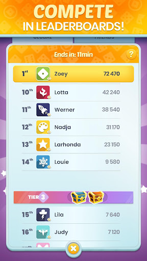 Golden Roll: The Yatzy Dice Game modavailable screenshots 3