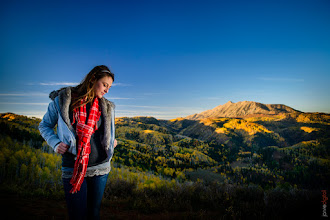 Photo: +Susan Marinelloon her October trip to utah to help with my Promo Video Photo shoot.  She's pretty cool. :)