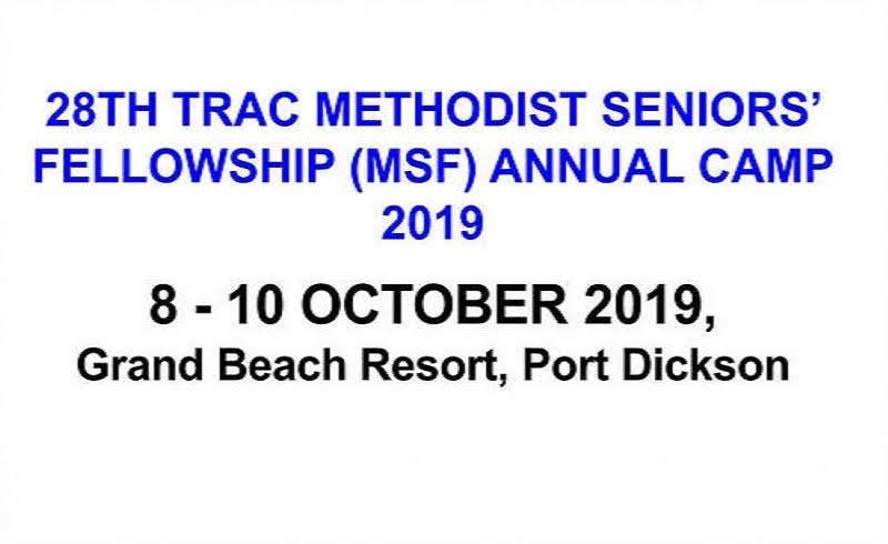 28th TRAC MSF Annual Camp(第28届三一年议会乐齡年度营会(英))