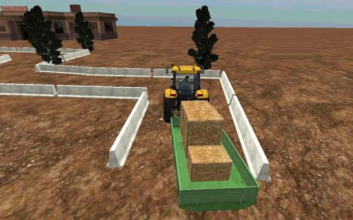 Traktör Sürme: Saman Taşıma 3D