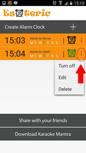 Mantra Alarm Clock Esoteric