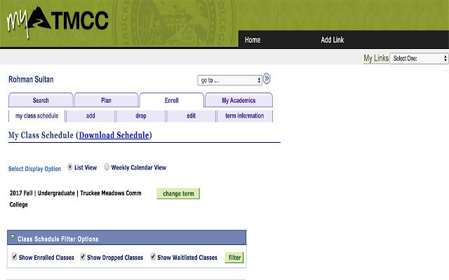 MyTMCC Schedule Exporter