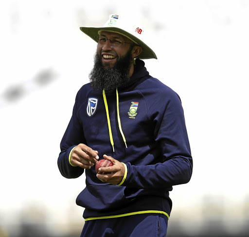 Forward defence: Hashim Amla returns to The Oval, the scene of his finest innings, for the third Test against England starting on Thursday, but says he prefers not to dwell on the past. Reuters