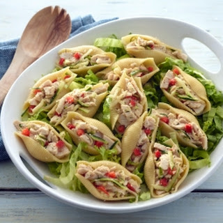 Garden Turkey Salad Shells