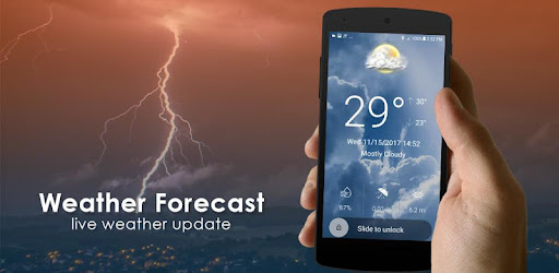 Hourly weather forecast app (apk) free download for Android/PC/Windows screenshot