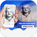Gesicht Projector Simulator icon
